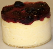 New York Baked Cheesecake - Blueberry