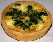 Quiche Spinach and Fetta - 10cm diameter